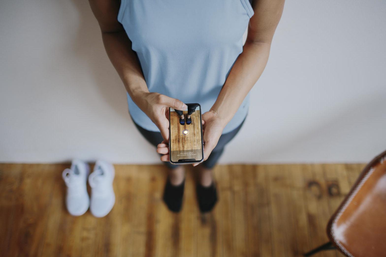 Le blog réalité augmentée Nike veut utiliser la réalité augmentée pour que vous choisissiez la bonne taille de basket