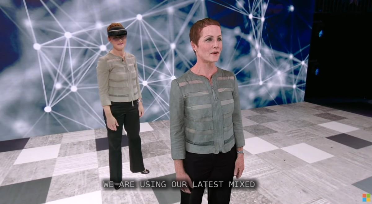 Le blog réalité augmentée Microsoft présente un incroyable hologramme traducteur