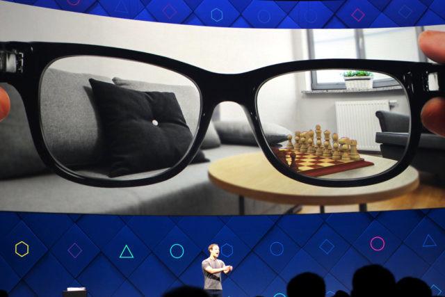 Le blog réalité augmentée Facebook s'associe à Ray-Ban pour développer des lunettes intelligentes