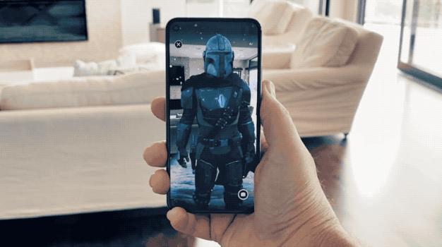 Le blog réalité augmentée The Mandalorian arrive en réalité augmentée sur Google Pixel