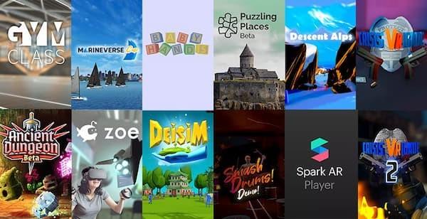 Le blog réalité augmentée Oculus App Lab : une application pour le Quest à 240 dollars