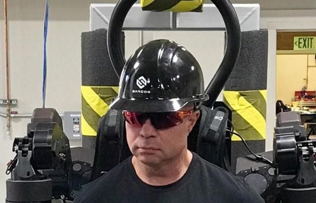 Le blog réalité augmentée Sarcos Robotics utilise la VR et la 5G pour contrôler un robot industriel mobile