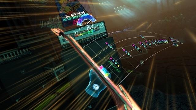 Le blog réalité augmentée Unplugged : Air Guitar : le rival de Beat Saber débarquera sur Quest en octobre